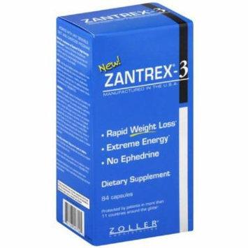 Zantrex 3 Ephedra-Based Diet Pill, Capsules, 84 CT