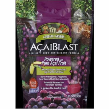 Garden Greens Acaiblast Soft Chews, 30 CT