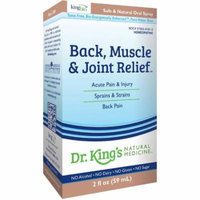 King Bio Back, Muscle and Joint Relief, 2 OZ