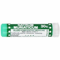 Ollois Homeopathic Medicine - Natrum Muriaticum 30C Pellets, 80 CT (Pack of 2)