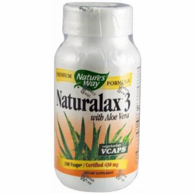 Nature's Way Naturalax 3 Vegetarian Capsules, 100 CT