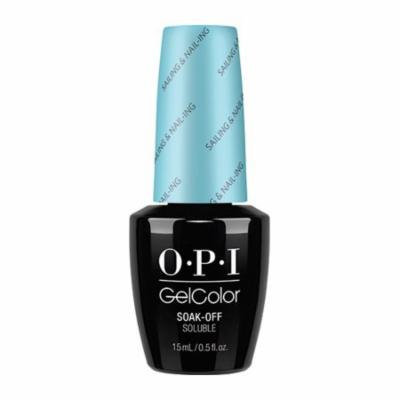 Opi Gelcolor Collection Nail Gel Lacquer, 0.5 Fluid Ounce - Sailing & Nail-ling