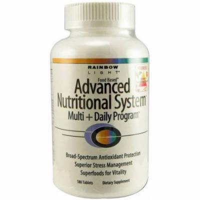 Rainbow Light Multivitamins Advanced Nutritional System, 180 CT