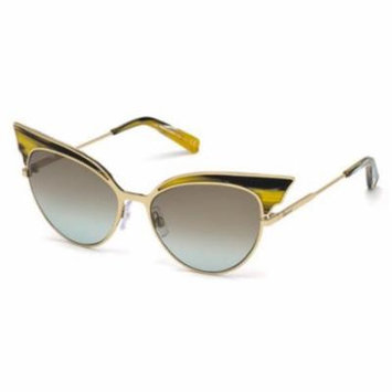 DSQUARED2 Sunglasses DQ0166 64F Coloured Horn 55MM