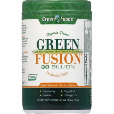 Green Foods Green Fusion Nutritional Supplement, 10.4 OZ