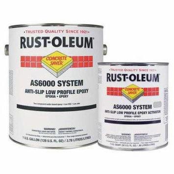 RUST-OLEUM AS6086425 AS6000 Anti-Slip Epoxy Kit,Navy Gray,1g G8530636