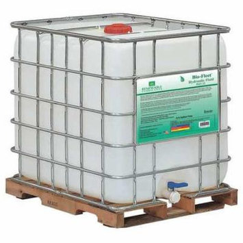 RENEWABLE LUBRICANTS 80827 Hydraulic Oil,Tote,Yellow,275 gal. G2224279