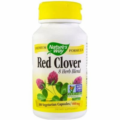 Nature's Way Red Clover with Prickly Ash Bark Capsules, 100 CT