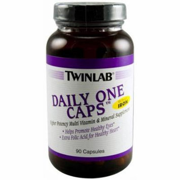 Twinlab Daily One Multivitamin without Iron, 90 CT