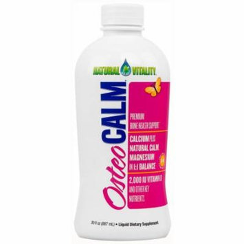 Natural Vitality Osteo Calm Premium Bone Health Support, 30 FL OZ
