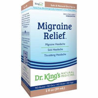 King Bio Migraine Relief, 2 OZ