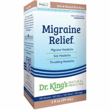 King Bio Migraine Relief, 2 OZ