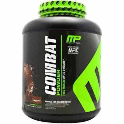 Muscle Pharm Combat Powder, Chocolate Milk, 4 LB