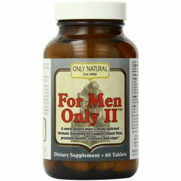 Only Natural For Men Only II, 60 CT