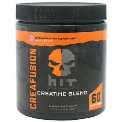 HiT Supplements Creafusion Creatine Blend, Strawberry Lemonade, 60 CT