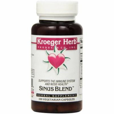 Kroeger Herb Sinus Blend Formerly Stuffy Capsules, 100 CT