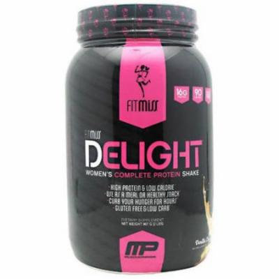 Fit Miss Fit Miss Delight Women's Complete Protein Shake, Vanilla Chai, 2 LB