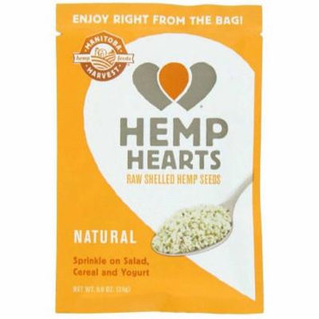 Manitoba Harvest Hemp Hearts, Raw Shelled Hemp Seeds, All Natural, 12/.9 OZ