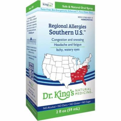 King Bio Regional Allergies, Southern U.S, 2 OZ