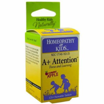 Herbs For Kids A+ Attention Tablet, 125 CT