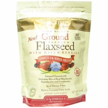 Spectrum Ground Flax with Mixed Berries, 12 OZ