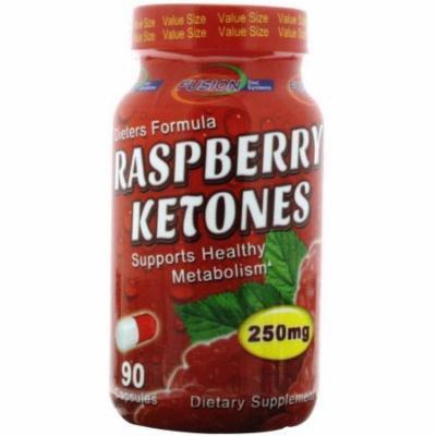 Fusion Diet Systems Raspberry Ketones, Caplets, 90 CT