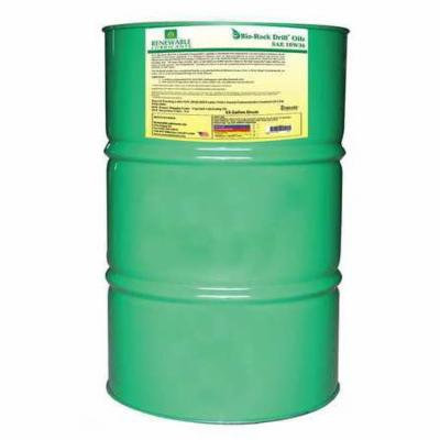 RENEWABLE LUBRICANTS 83016 Drill Oil,Drum,Yellow,55 gal. G2223840