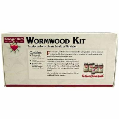 Kroeger Herb Wormwood Parasite Control Kit, 5 CT