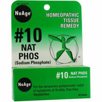 Hylands #10 Natrum Phosphate Tablets, 125 CT (Pack of 2)