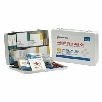 FIRST AID ONLY 90673 First Aid Kit,50 People,Metal,276 Comp. G4161416