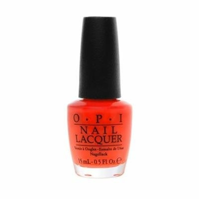 OPI Nail Lacquer, OPI Brights Collection, 0.5 Fluid Ounce - Atomic Orange B39
