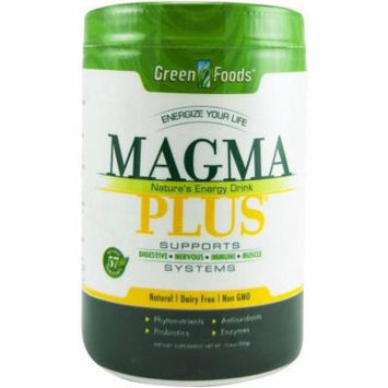 Green Foods Magma Plus - The Ultimate Superfood, Powder, 11 OZ