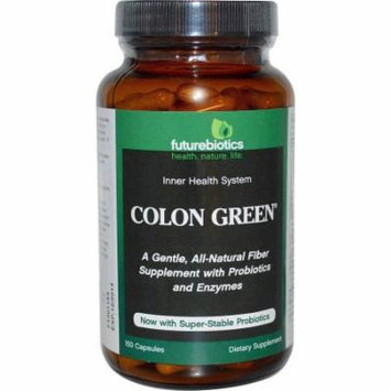 Futurebiotics Colon Green, Digestive Health, Capsules, 150 CT