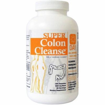 Health Plus Super Colon Cleanse Day Formula Capsules, 180 CT