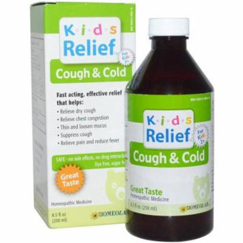 Kids Relief Kids Relief Cough and Cold Syrup, 8.5 OZ