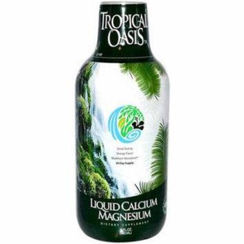 Tropical Oasis Liquid Calcium and Magnesium Orange, 16 OZ
