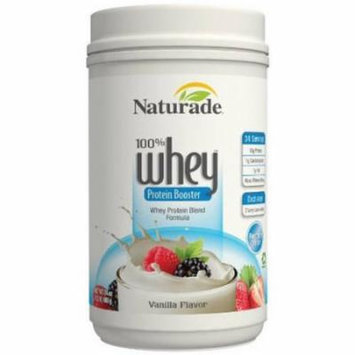 Naturade 100% Whey Protein Booster, Vanilla, 24 OZ