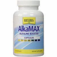 Natural Balance AlkaMax -Alkaline Booster with 15 pH Test Strips, 90 CT