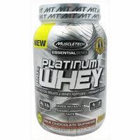 MuscleTech 100% Platinum Whey, Milk Chocolate Supreme, 2 LB