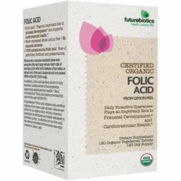 Futurebiotics Organic Folic Acid 800mcg, 120 CT