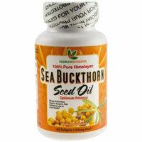 Seabuckwonders Seed Oil, Made with Organic Sea Buckthorn, Softgels, 60 CT