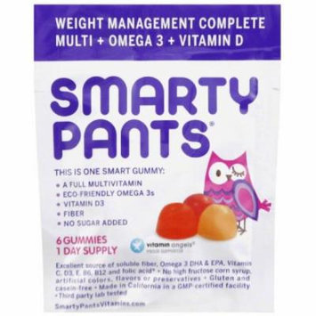 Smarty Pants Multivitamin - Complete - Fiber - Gummies - Adult, .56 OZ (Pack of 15)