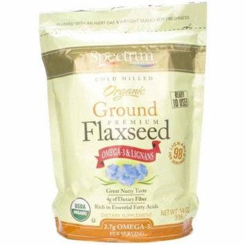 Spectrum Essentials Organic Ground Essential Flaxseed, 14 OZ