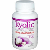 Kyolic Aged Garlic Extract Total Heart Health Capsules, 100 CT