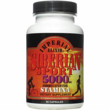 Imperial Elixir Siberian Sport 5000mg, Formulated for Stamina, 90 CT
