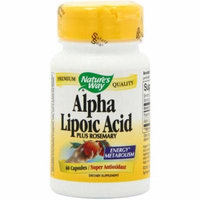 Nature's Way Antioxidants Alpha Lipoic Acid, 60 CT