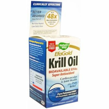 Nature's Way Krill Oil Softgel Capsules, 60 CT