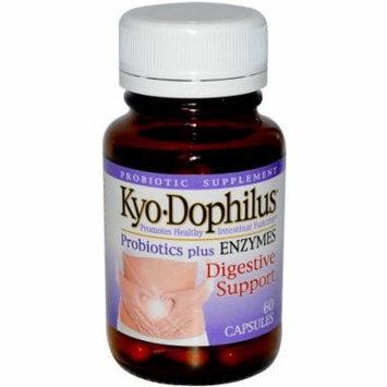 Kyolic Kyo-Dophilus Probiotics Plus Enzymes Capsules, 60 CT