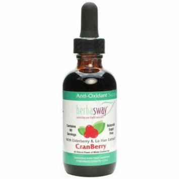 Herbasway Urinary Support, Elderberry & Lo Han Extract, Cranberry, 2 OZ