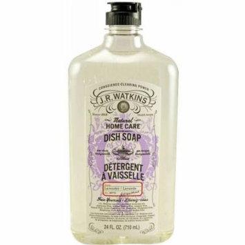 J.R. Watkins Liquid Dish Soap Detergent, Lavender, 24 FL OZ (Pack of 2)